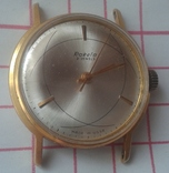 Ракета Атом Raketa , 21 Jewels , мех 2609Б , Au 20 photo 2
