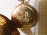 Часы карманные золотые,швейцарские photo 10