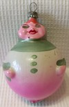 Елочная игрушка Баба Яблоко