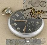 Швейцарские swiss карманные мех. часы DOGMA D H спец заказ Германия 1940-е III-й Рейх