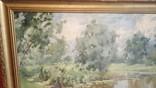 "Картина ""Деревья над прудом"" А. А. Шовкуненко photo 3"