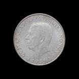 5 Крон 1959 150 лет Конституции, Швеция photo 2