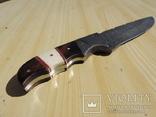Охотничий нож дамасск с чехлом.33