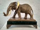 Слон бронза (Elephant bronze). Клеймо.