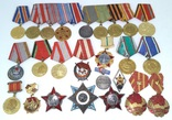 Комплект наград и знаков, на генерал-лейтенанта с документами