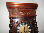 Часы настенные ссср с боем янтарь хенд мейд 0355, фото №3