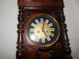 Часы настенные ссср с боем янтарь хенд мейд 0355, фото №4