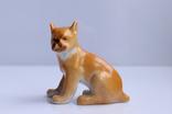 «Собака, щенок бульдога» скульптор Ризнич И. И. анималистика ЛФЗ, 40-е года