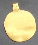Медальон ЧК (Аu)