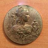 Настольная медаль, выставка Париж 1912 г.