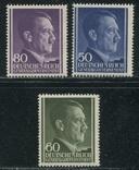 1943 Рейх генералгубернаторство Гитлер полная серия MNH **