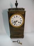 Старинные настольные Часы ( Франция , на ходу )