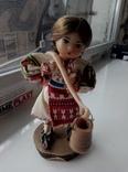 Кукла париковая наверно сувенирная