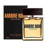 Yves Rocher Ив Роше Туалетная Вода для мужчин Ambre Noir 50 мл
