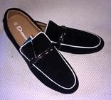 Туфли,натуральный замш