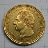 80 лир 1829 г. Италия