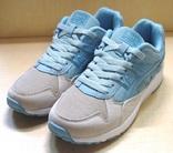 0152 Легкие кроссовки Baas, цвет- Серый с голубым, 41 размер 25 см Стелька
