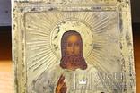 Икона Спас 84 проба 1871 год photo 2