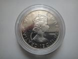 Бермуды 1 крона 1964 серебро пруф