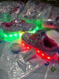 Детские кроссовки со светящей подошвой и с подзарядкой
