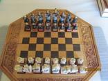 Старые шахматы ручной работы