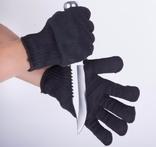Перчатки защитные порезоустойчивые (одна пара). Блиц