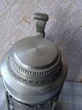 Большая Кружка Бокал из олова Серия Выдающиеся художники Карл Шпицвег. Клеймо., фото №6
