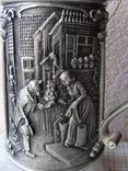 Большая Кружка Бокал из олова Серия Выдающиеся художники Карл Шпицвег. Клеймо., фото №10