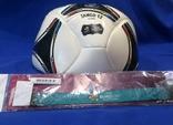 Футбольный мяч EURO2012+бонус