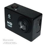 Экшн камера Action Sports с аквабоксом и набором креплений photo 7