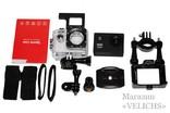 Экшн камера Action Sports с аквабоксом и набором креплений photo 10