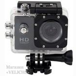 Экшн камера Action Sports с аквабоксом и набором креплений photo 11