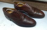 Туфли броги Van Lier р-р. 42-42.5-й (27.7 см)