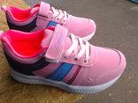 Кроссовки для девочек (розовые)