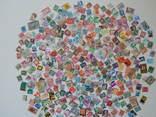 Приличный лот иностранных марок 400 шт.