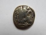 Древняя Греция,Македония, Филип III,Арридей, серебряная драхма 4 ст.д.э. а