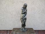 Старинная бронзовая скульптура.J.Moser