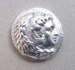 Тетрадрахма Александра ІІІ Великого срібло