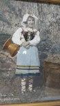 Старинная фотография с подресовкой, фото №5