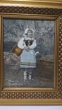 Старинная фотография с подресовкой, фото №7