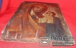 Икона Божьей Матери доска, фото №4