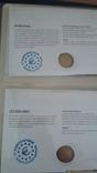 Семь монет по 2 евро в  семи конвертах и альбоме., фото №9