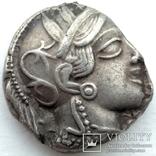 Тетрадрахма Аттика Афины 454-404 гг до н.э. (76_21) photo 2