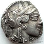 Тетрадрахма Аттика Афины 454-404 гг до н.э. (76_21) photo 3