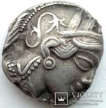 Тетрадрахма Аттика Афины 454-404 гг до н.э. (76_21) photo 4