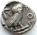 Тетрадрахма Аттика Афины 454-404 гг до н.э. (76_21) photo 6