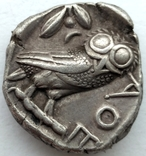 Тетрадрахма Аттика Афины 454-404 гг до н.э. (76_21) photo 8