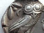 Тетрадрахма Аттика Афины 454-404 гг до н.э. (76_21) photo 9