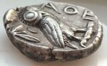 Тетрадрахма Аттика Афины 454-404 гг до н.э. (76_21) photo 12