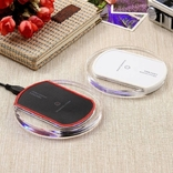 Универсальное беспроводное зарядное устройство на iPhone 5s 5C 6 6c 7plus 7 photo 5